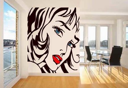 Dormitorio con animes decora los dormitorios juveniles - Vinilos pared juveniles ...