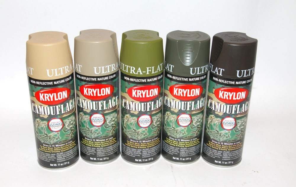 how to do krylon multi cam type camouflage paint job. Black Bedroom Furniture Sets. Home Design Ideas