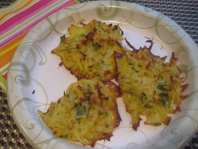 Swedish Rosti potato pancakes