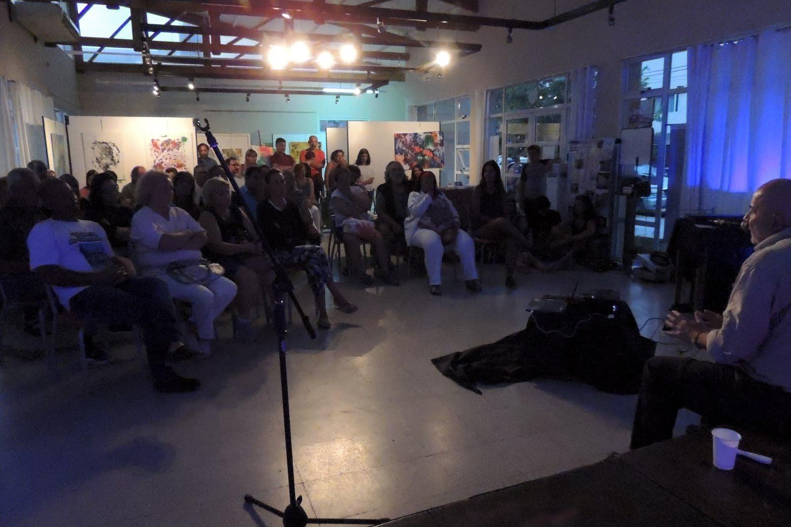 2018 - LAS PATAS Conferencia en Claromeco. Comienzan los trabajos