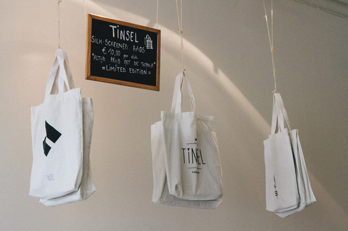 Tote bags Tinsel Cafe in Antwerp