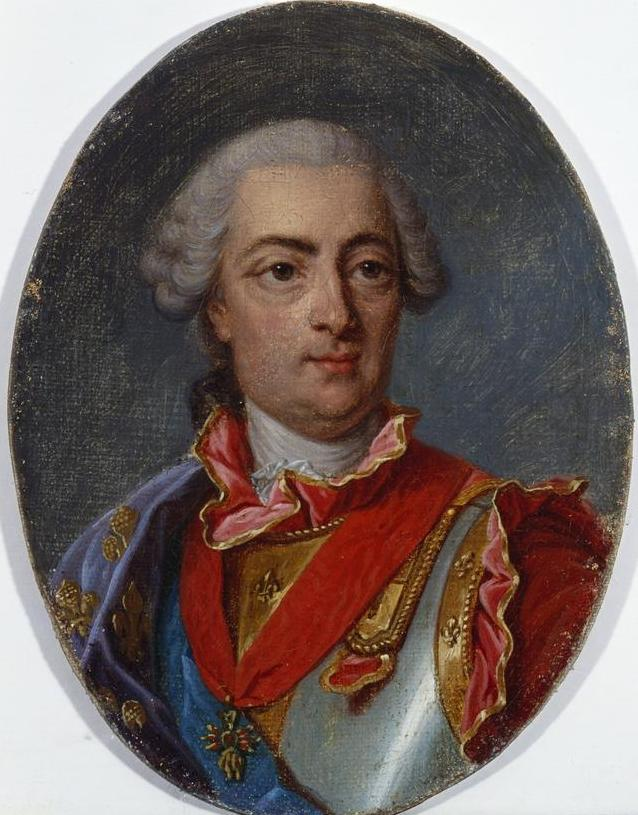 Joseph siffred duplessis portrait of louis xv king of france