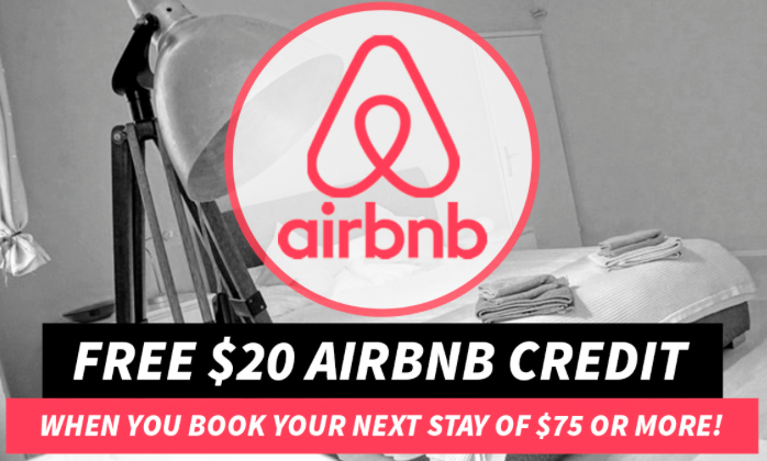 Save $20 On Your First AirBNB Stay!