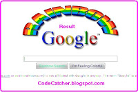 Google Rainbow I'm Feeling Lucky