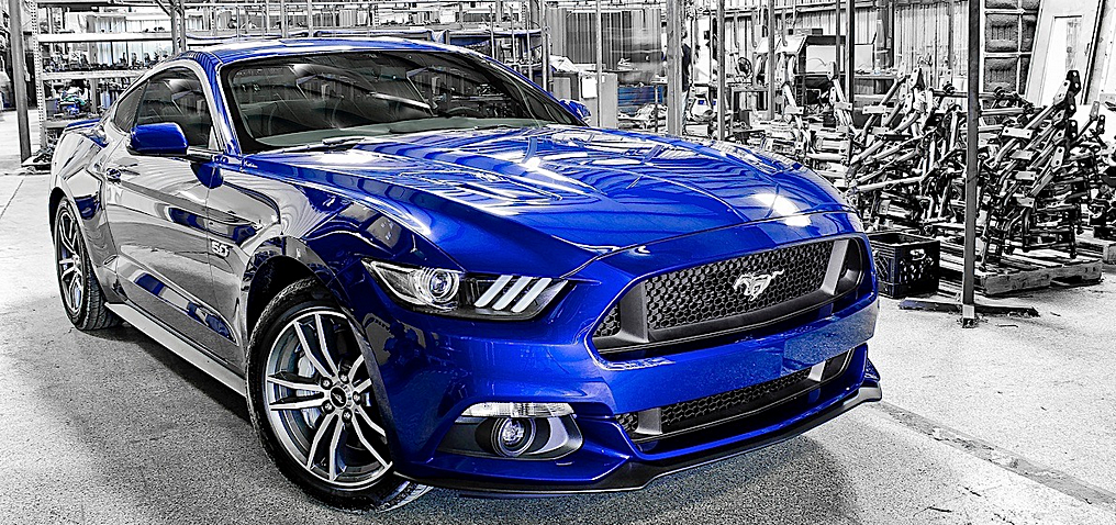 ford mustang 2015 has a big impact - Ford Mustang 2015 Blue