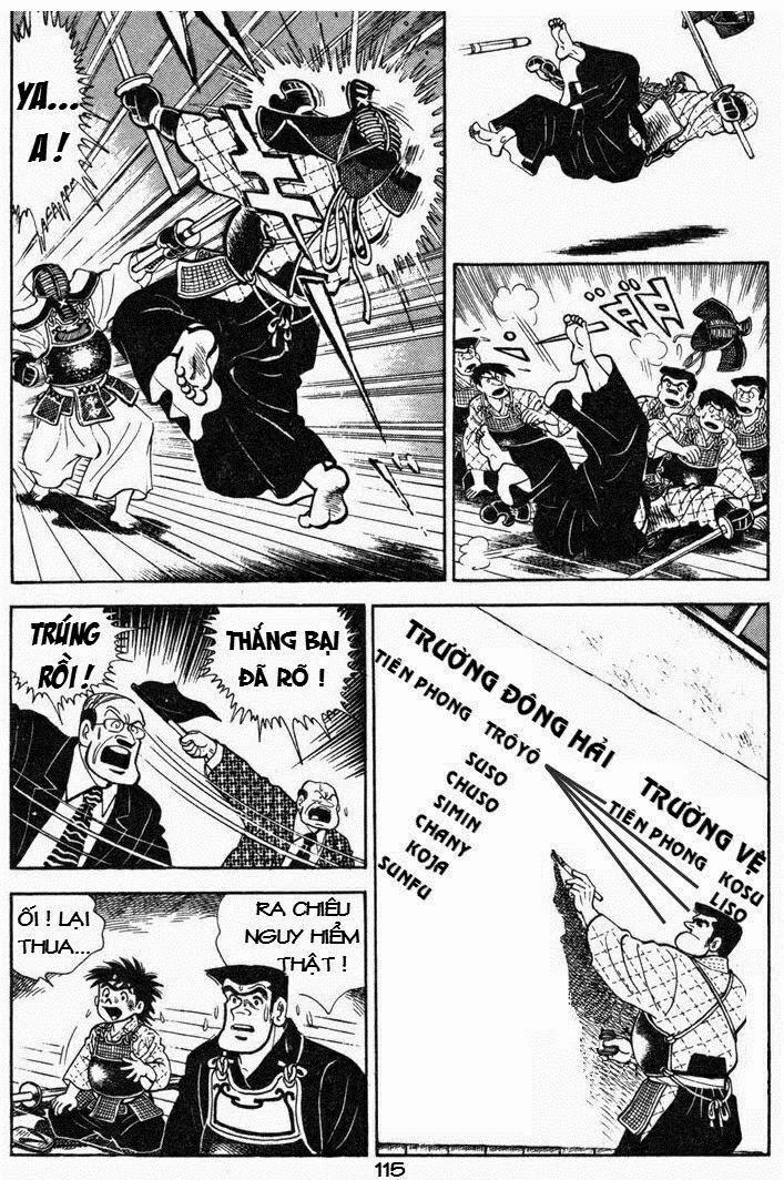 Siêu quậy Teppi chap 43 - Trang 35