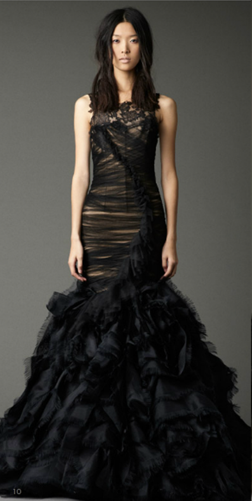 Nicole rene design weddings events home decor fashion for Black designer wedding dresses