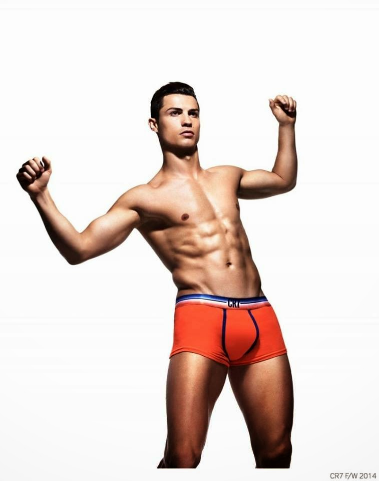 Cristiano Ronaldo CR7 Underwear Fall/Winter 2014 Campaign