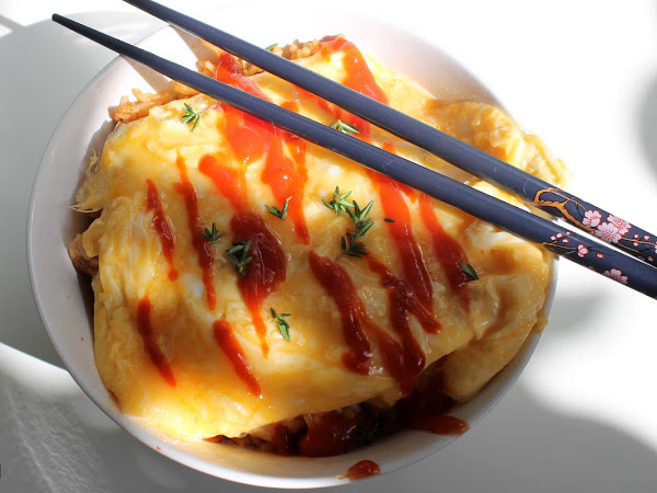 Omuraisu - Ketchupreis mit Omlett