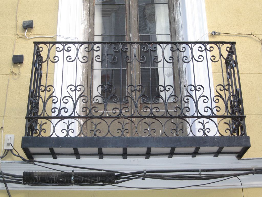 Suspiros por madrid - Balcones de forja antiguos ...