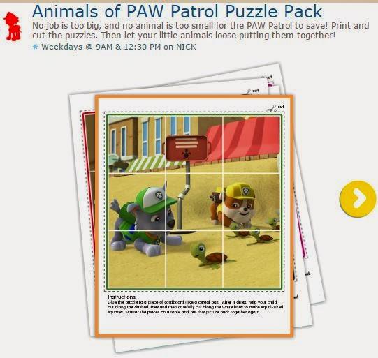 Paw Patrol o Patrulla Canina: Set de Puzzles para Imprimir Gratis.