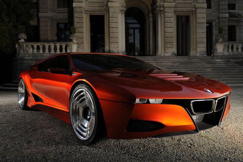 a car BMW M1 2016