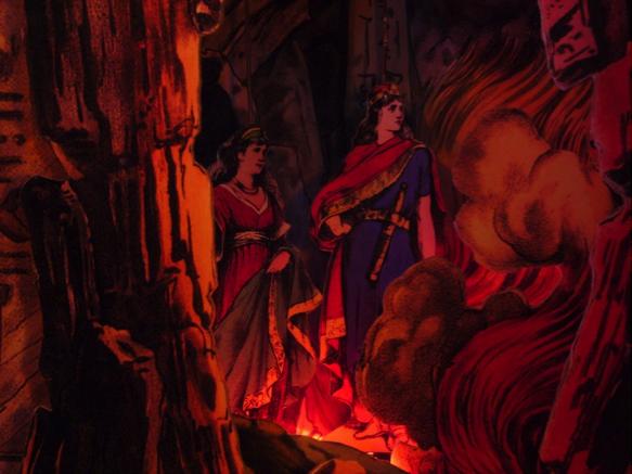 Bühnenbild Detail