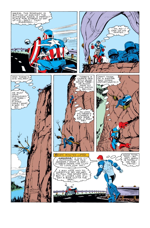 Captain America (1968) Issue #318 #246 - English 22
