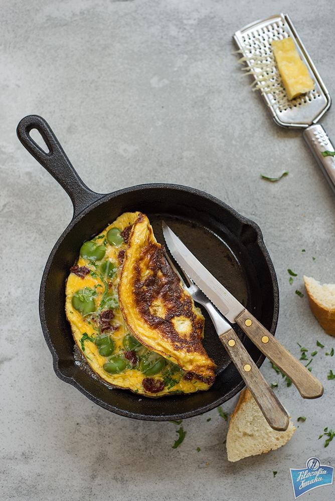 Omlet śniadaniowy przepis