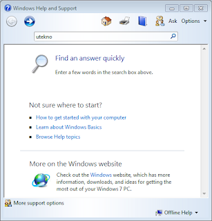 Cara Mengatasi Windows Help support yang Muncul Terus