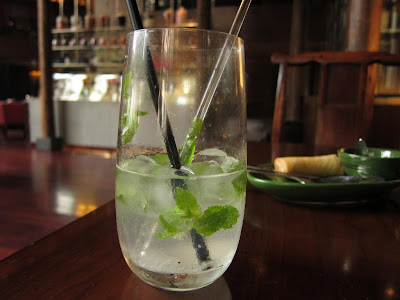 Mint soda at The China Kitchen