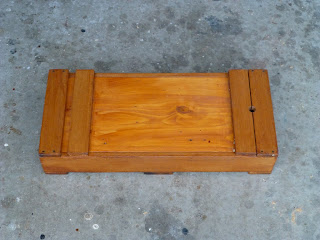 Japanese style toolbox, closed.