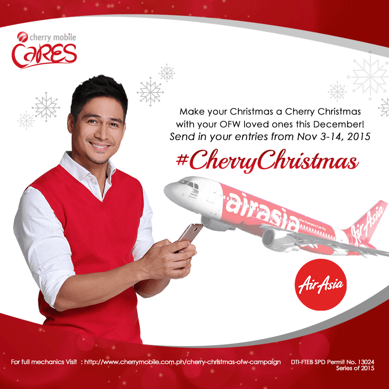 Few More Days Left, Make Sure To Send Your Entries For The Cherry Christmas OFW Promo Before November 14, 2015!