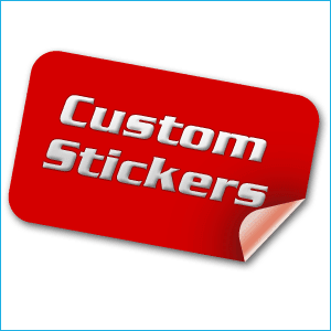 Customized / personalized stickers and labels