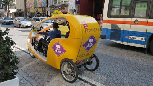 Velo Taxis Naha, Okinawa, Japan