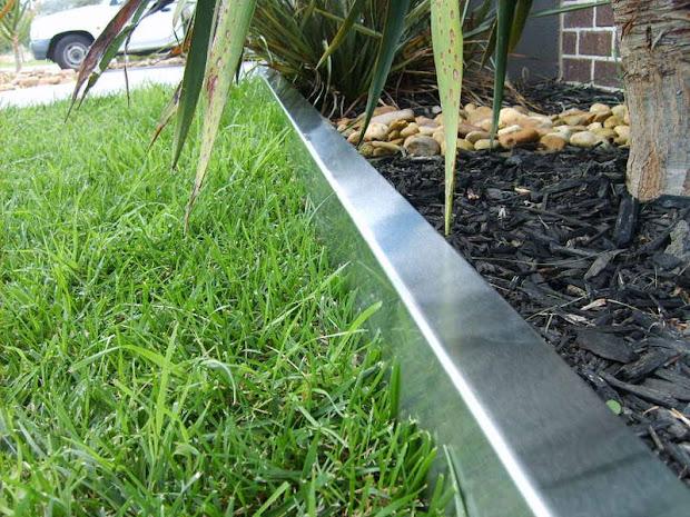 choose steel landscape edging