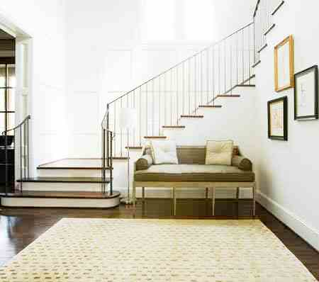 Entryway seating designs home ideas designs for Foyer seating area ideas