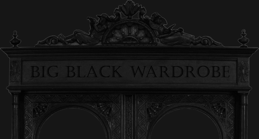 Big Black Wardrobe