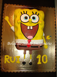 Bolo de Aniversrio Spongebob
