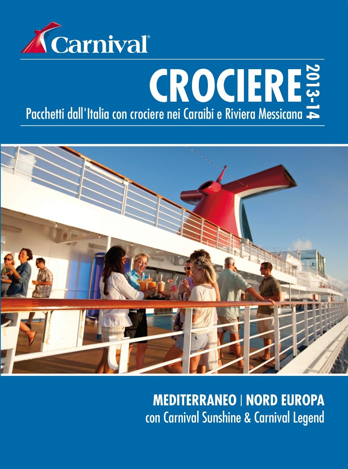Economia del mare ecco il nuovo catalogo carnival 2013 for Pacchetti volo e soggiorno new york