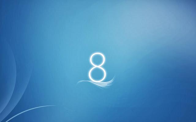 Windows 8 LiteBlue Wallpaper