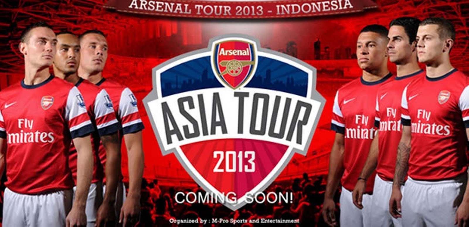 Arsenal Tour Indonesia 2013