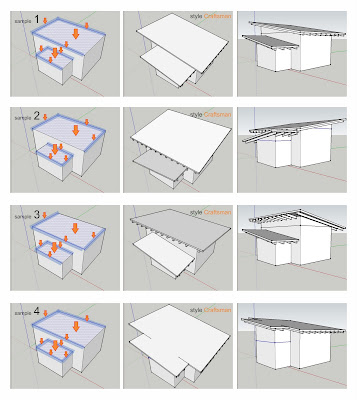 tutorial instant roof sketchup