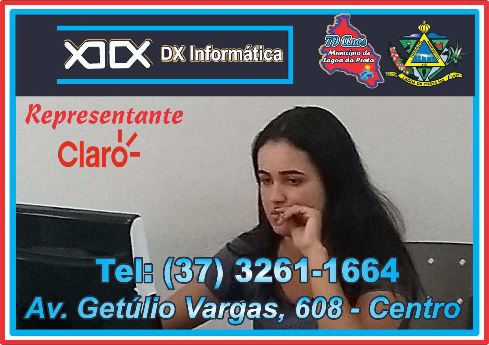 DX  Informática - Tel: (37) 3261-1664 / 3261-1080  ***