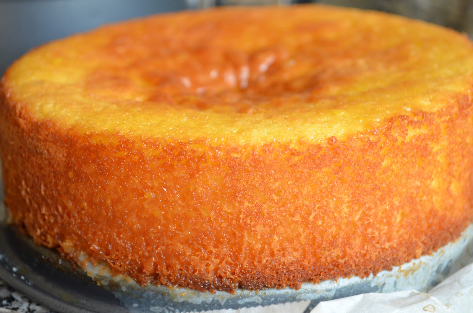 Fresh Orange Cake Recipe