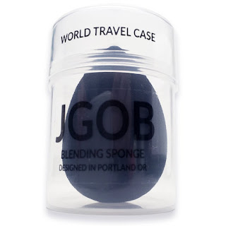 Black Charcoal Applicator Makeup Blender Sponge from JGOB