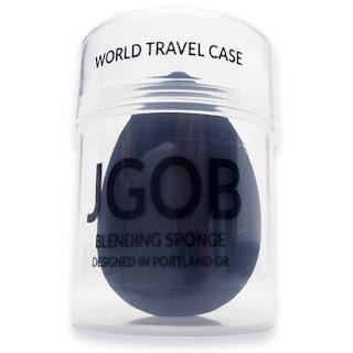 Black Charcoal Applicator Makeup Blender Sponge from JGOB
