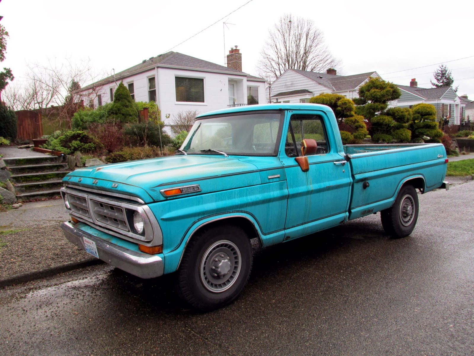 seattle 39 s classics 1972 ford f250 pickup. Black Bedroom Furniture Sets. Home Design Ideas