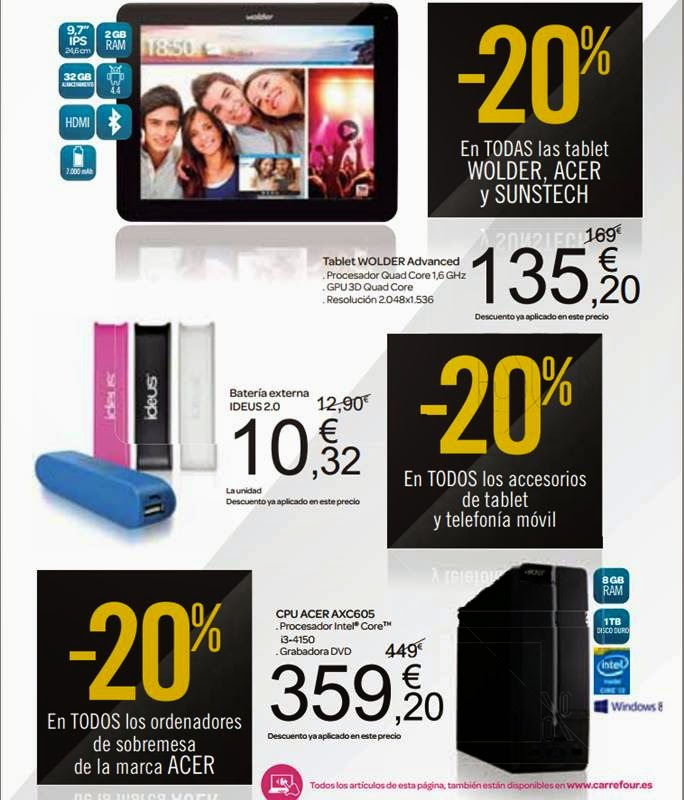 portatil de oferta carrefour black friday 2014
