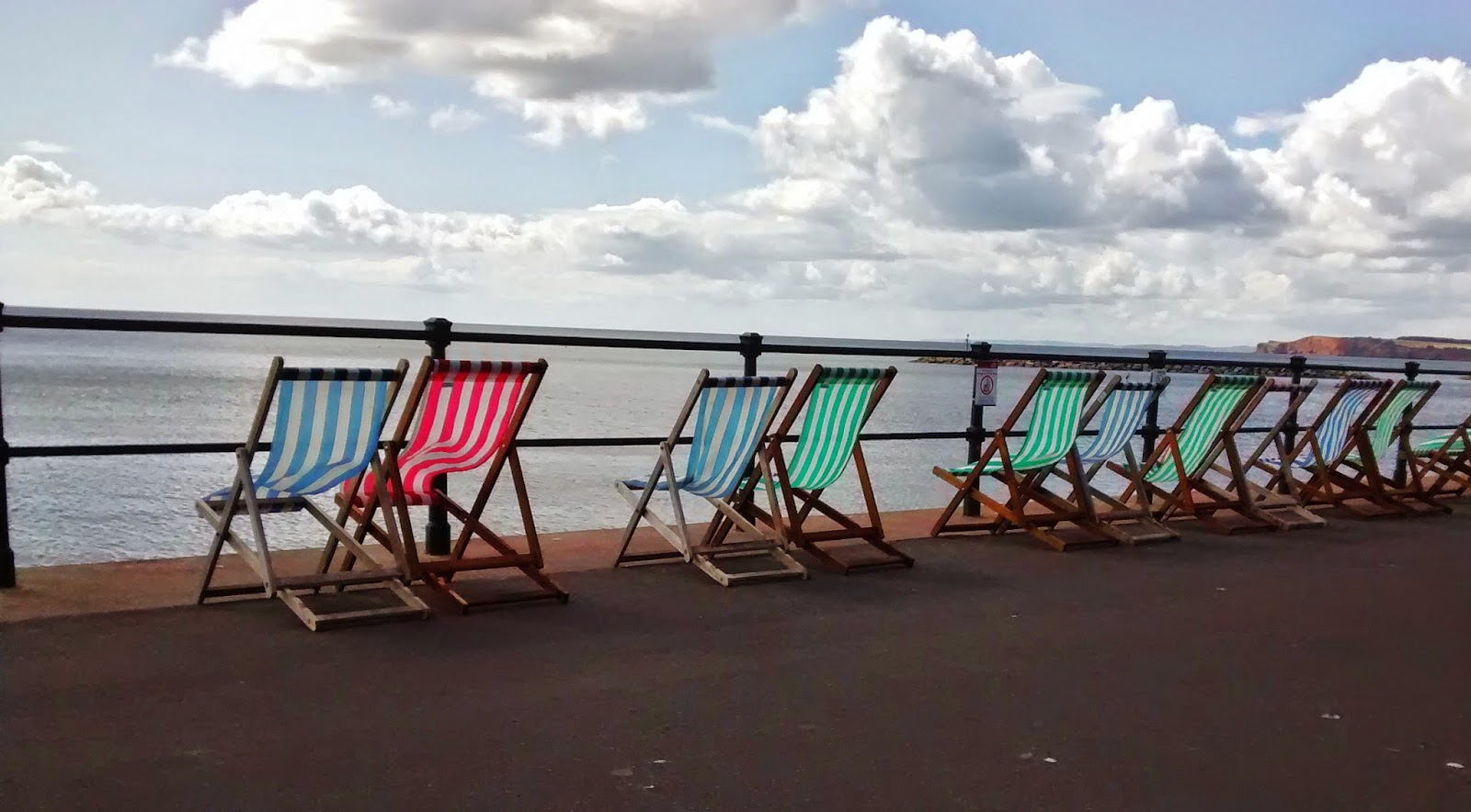 Deckchairs at Sidmouth