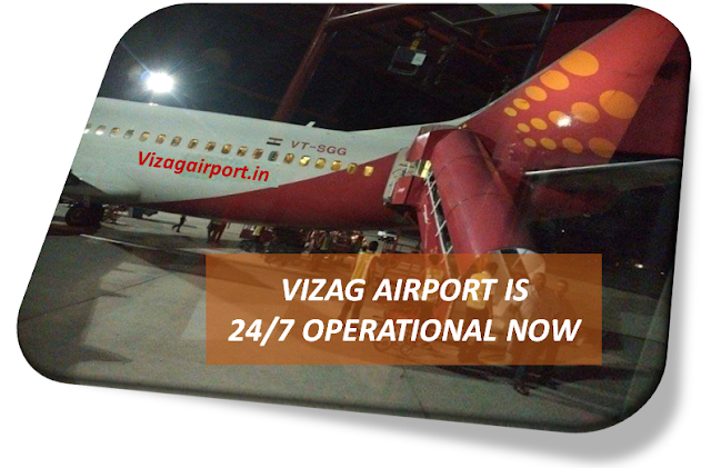 Vizag Airport is 24/7 Operation Now - 6 New Bays