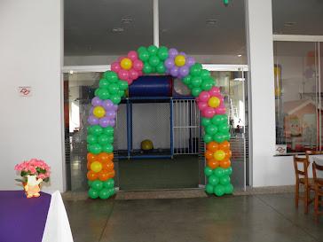 Entrada Playground Salão de Festas Felicitá