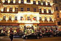 Hotel Sacher Wien Vienna Christmas