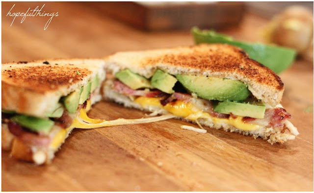 Hopeful: The Best Grilled Cheese Sandwich Ever