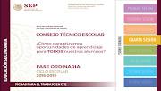 Ficha para el trabajo en CTE Cuarta Sesión Ordinaria Secundaria 2018-2019