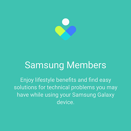 Samsung Members - App to solve problems of galaxy users - TECH-RG