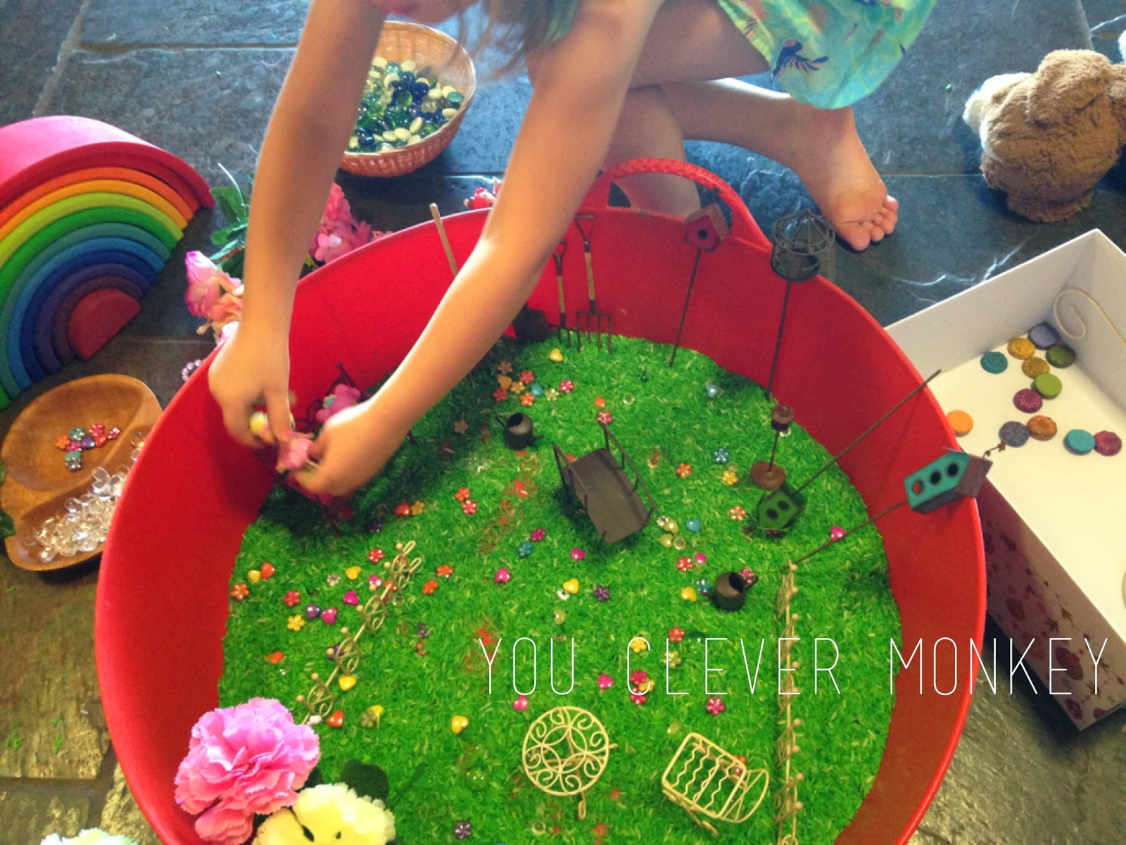 Fairy Garden Play you clever monkey