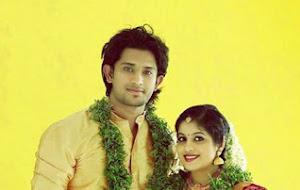 Amith chakalakkal wedding dress