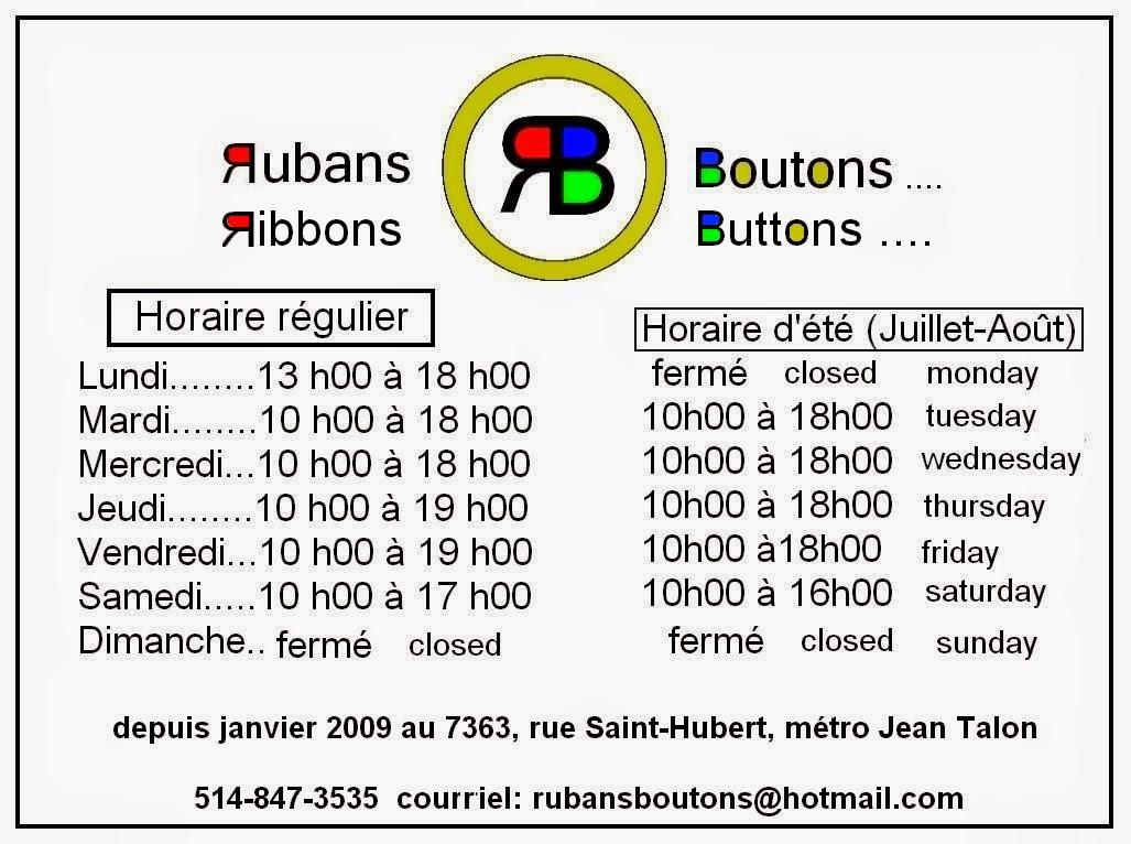 Horaire-Schedule