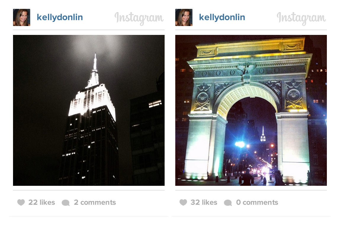 New York City Instagrams